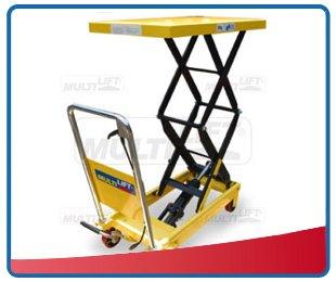 Mesas elevadoras hidr ulicas tipo tijera montacargas - Mesa de trabajo con ruedas ...