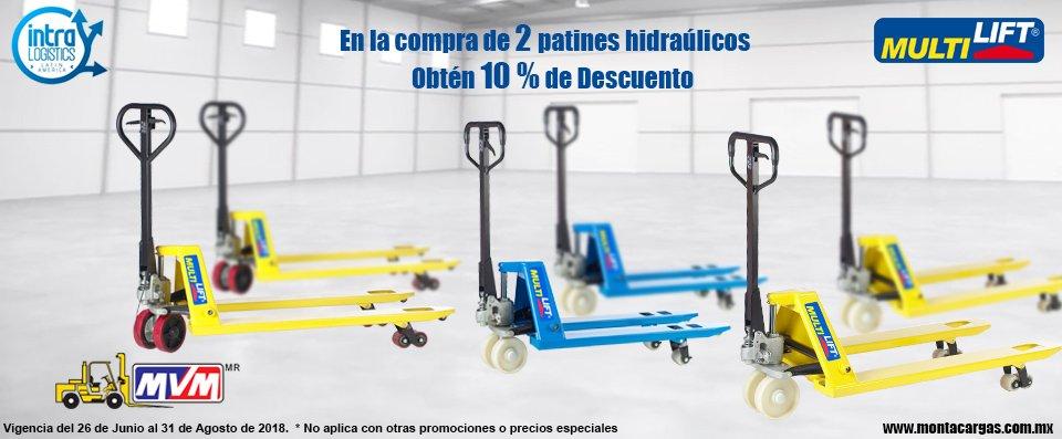 venta de patines hidraulicos