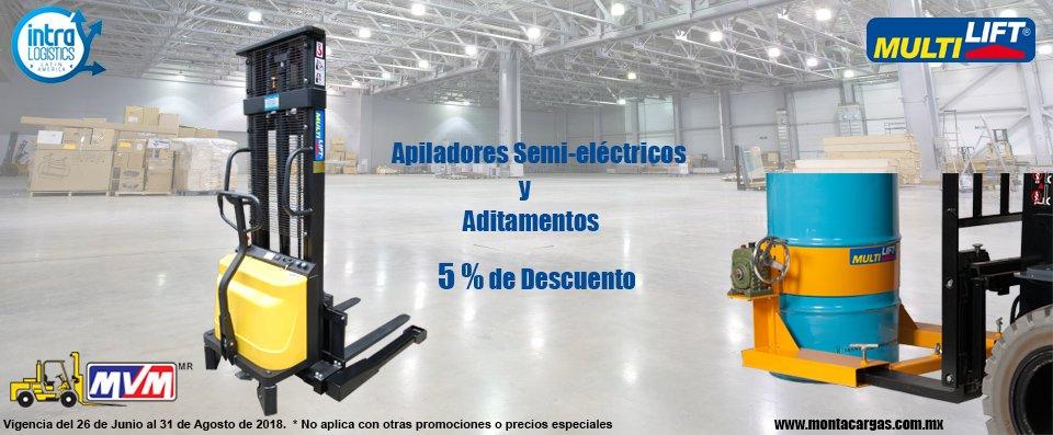 apiladores semielectricos